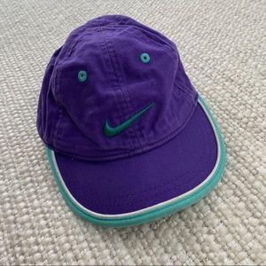 Kid's Purple & Teal Nike Hat